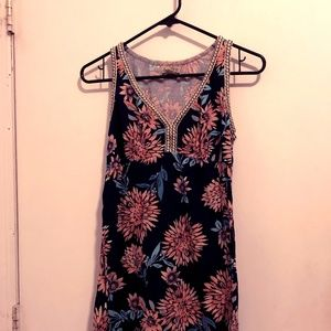 A Floral Lucky Brand Dress in a Size Small